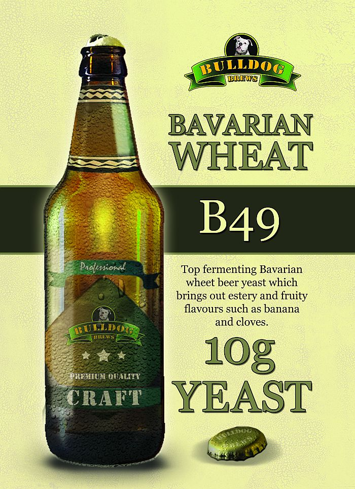 Kvasnice Bulldog B49 Bavarian Wheat