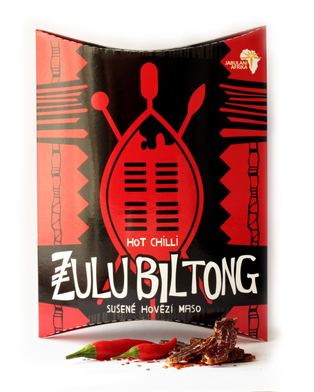 ZULU BILTONG  HOT CHILLI