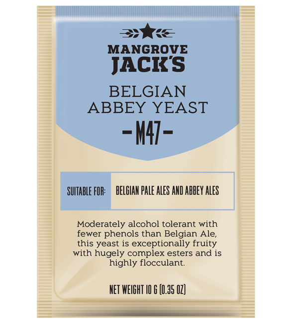 M47 Belgian Abbey Yeast by Mangrove Jack´s