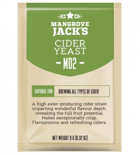 M02 Cider Yeast by Mangrove Jack's